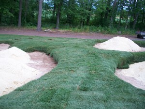 sugarloaf golf club bunker project